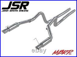 05-09 Mustang GT 4.6L MBRP Race Version Dual Cat-Back 3in Exhaust Aluminized