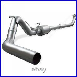 07.5-10 Chevy/GMC 6.6L DIESEL AFE ATLAS 4 DOWNPIPE-BACK RACE EXHAUST