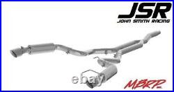 15-18 Mustang EcoBoost MBRP Cat-Back Race Series 3in Exhaust (T409 Steel)