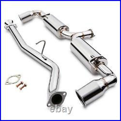 2.25 Stainless Cat Back Race Exhaust System For Mazda Rx8 Rx-8 1.3 Se3p 03-12