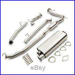 2.5 Stainless Cat Back Sport Race Exhaust System For Honda CIVIC Fn2 2.0 Type R