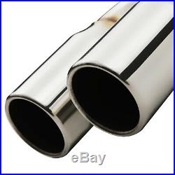2.5 Stainless Race Sport Cat Back Exhaust System For Peugeot 207 1.6t Gti 06-09