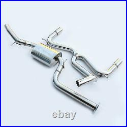 2.5stainless Cat Back Race Exhaust System Fit Ford Focus Mk2 St 225 St225 05-11