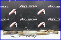 2000-2003 Honda S2000 Ap1 Megan Racing Cat Back Exhaust Used F20c