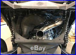 2020 Can-Am X3 Turbo RR Exhaust Treal Performance 3 Inch Turbo Back Race Exhaust