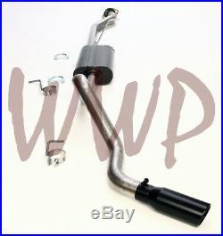 3.00 Stainless Cat Back Exhaust System /w Black Tip 99-06 Silverado Sierra 1500