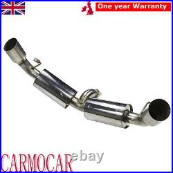 3 Exhaust System Race Cat Back For Toyota Mk2 Sw20 Mr2 2.0 1990-1995 Stainless