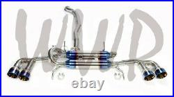 3 Stainless Cat-Back Exhaust For 09-19 Nissan GTR GT-R R35 Track Nismo BurntTip