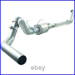 AFe Aluminized 4 Turbo Back Exhaust No Muffler 03-04 Dodge Ram 5.9L Diesel