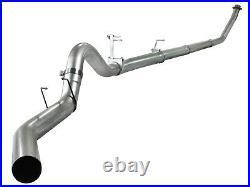 AFe Aluminized 4 Turbo Back Exhaust No Muffler 94-02 Dodge Ram 5.9L Diesel