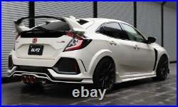 BLITZ NUR-SPEC Catback Exhaust Custom Carbon Red Civic Type R 19-20 FK8 JDM CTR