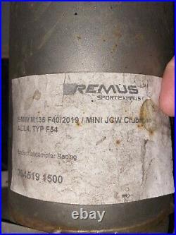 BMW M135i Xdrive F40 & Mini JCW All4 F54 Remus Race Exhaust OPF Back