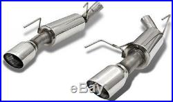 Bassani 4610sr5 Race Axle Back Exhaust 2010 Ford Mustang Gt Gt500 Shelby Cobra