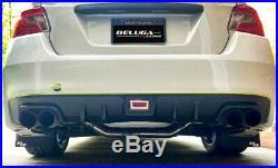 Beluga Racing Performance Axle Back Exhaust fits SUBARU WRX STI 2015-2019 SW