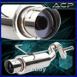Catback Exhaust System 3 Muffler Pipe For 02-06 Sentra SE-R Spec-V 2.5L QR25DE