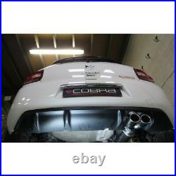 Citroen DS3 1.6 THP 155 / Racing Resonated Cat Back Cobra Sport Exhaust CT16
