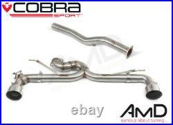 Cobra BMW M135i F40 GPF Back Race Exhaust Valved with Box Delete BM129