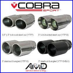 Cobra Sport Citroen DS3 1.6 THP 155 & Racing Non Resonated Cat Back Exhaust
