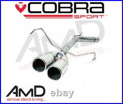 Cobra Sport Corsa C 1.2 & 1.4 Rear Exhaust Race Pipe Rear Silencer Delete