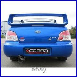 Cobra Sport Fits Subaru Impreza WRX STi 2.5 Cat Back Exhaust Non Res Race SC03Y