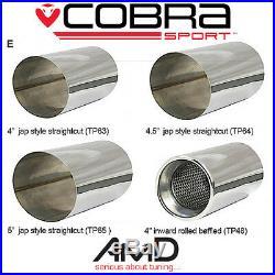 Cobra Sport Impreza Turbo WRX STi Exhaust Rear Silencer Back Box RACE TYPE 01-07