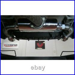 Cobra Sport Mazda MX-5 Mk3 (NC) Rear Exhaust (Race Type Louder) MZ05TP38