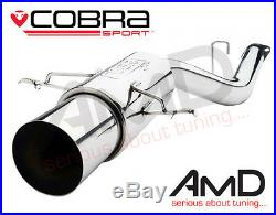 Cobra Sport Subaru Impreza WRX STi 2.5 Race Rear Silencer Exhaust 01-05