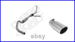 Diamond Eye For 03-07 Ford F250 F350 6.0L Single 4 Turb0-Back Exhaust with 5 Tip