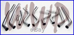 Dual 3 Header Back Exhaust No Muffler 64-67 GM A-Body Cutlass/Chevelle/Special