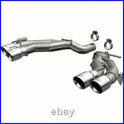 Exhaust System Kit-Race Series Stainless Axle-Back System fits 16-19 Camaro 6.2L