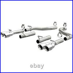 Exhaust System Kit-Race Series Stainless Axle-back System fits 15-21 Challenger