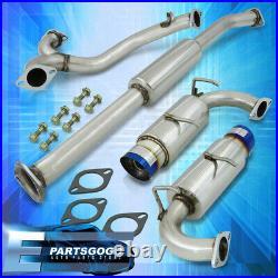 For 13-16 BRZ FR-S Burnt Tip Stainless Catback Exhaust Muffler System + Silencer