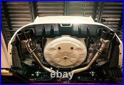 For 2011-2020 Subaru Wrx/sti Sedan Mbrp Race Catback Exhaust Carbon Fiber Tips