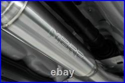 For 2011-2020 Subaru Wrx/sti Sedan Mbrp Race Catback Exhaust With Polished Tips