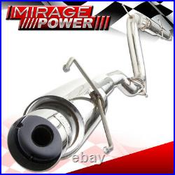 For 94-97 Honda Acoord 2.2L 2/4DR Stainless Steel Exhaust Catback System Muffler