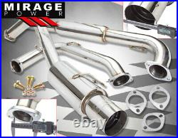 For 95-99 Mitsubishi Eclipse 2G 2.0L N1 Turbo 3 Catback Exhaust System + 4 Tip