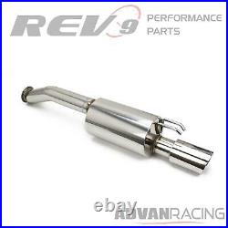 For CIVIC 06-11 RACE EXHAUST KIT CAT-BACK EXTREME 3 PIPE RACE USE