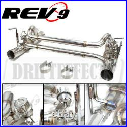 For Ferrari 488 Gtb/spider 15-20 Rev9 Flowmaxx Race Spec Axle-back Dual Exhaust