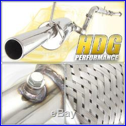For Vw Golf Gti Jetta Mk4 99-04 1.8T 3 Back Exhaust Catback 1.8T With Downpipe