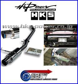 Genuine HKS Racing Muffler Hi-Power Cat Back Exhaust -For S14 S14a 200SX SR20DET