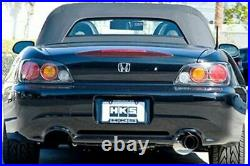 HKS 304SS Racing Cat-Back Exhaust withSingle Rear Exit For Honda S2000-32701-BH001