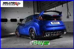Honda Civic Type R FK2 2.0T i-VTEC RHD Only Milltek Sport Race Cat Back Exhau