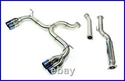 ISR Performance Race Cat Back Exhaust for Genesis Coupe 2.0T 2009-2014