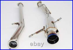 Invidia 76mm N1 RACING Titanium Tip Cat-back Exhaust for 2002-07 Subaru WRX/STi