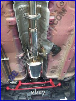 Lancer 2008 2009 2010 2011 DE ES GTS Tsudo cat-less Race S2 Cat Back Exhaust