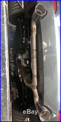 M140i CSK Racing back box delete exhaust