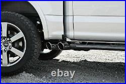 MBRP Black Race Version 3 Cat Back Exhaust System for 2015-2019 Ford F-150