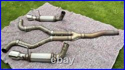 MBRP Ford Mustang Ecoboost 3 Cat Back Exhaust Stainless Tips Race Version