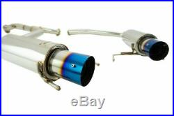 MEGAN RACING AXLE BACK EXHAUST With BLUE TIPS FOR 06-13 IS250 IS 350 RWD AWD