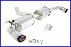 MEGAN RACING AXLE BACK EXHAUST With BURNT ROLLED TIPS FOR 07-13 BMW X5 E70 INLINE6